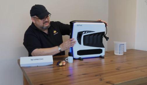 Já criaram um PC Gamer que prepara até café