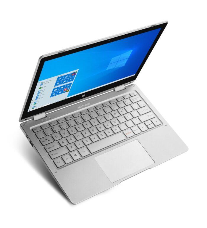 Multilaser lança notebook 2 em 1 barato voltado para estudantes